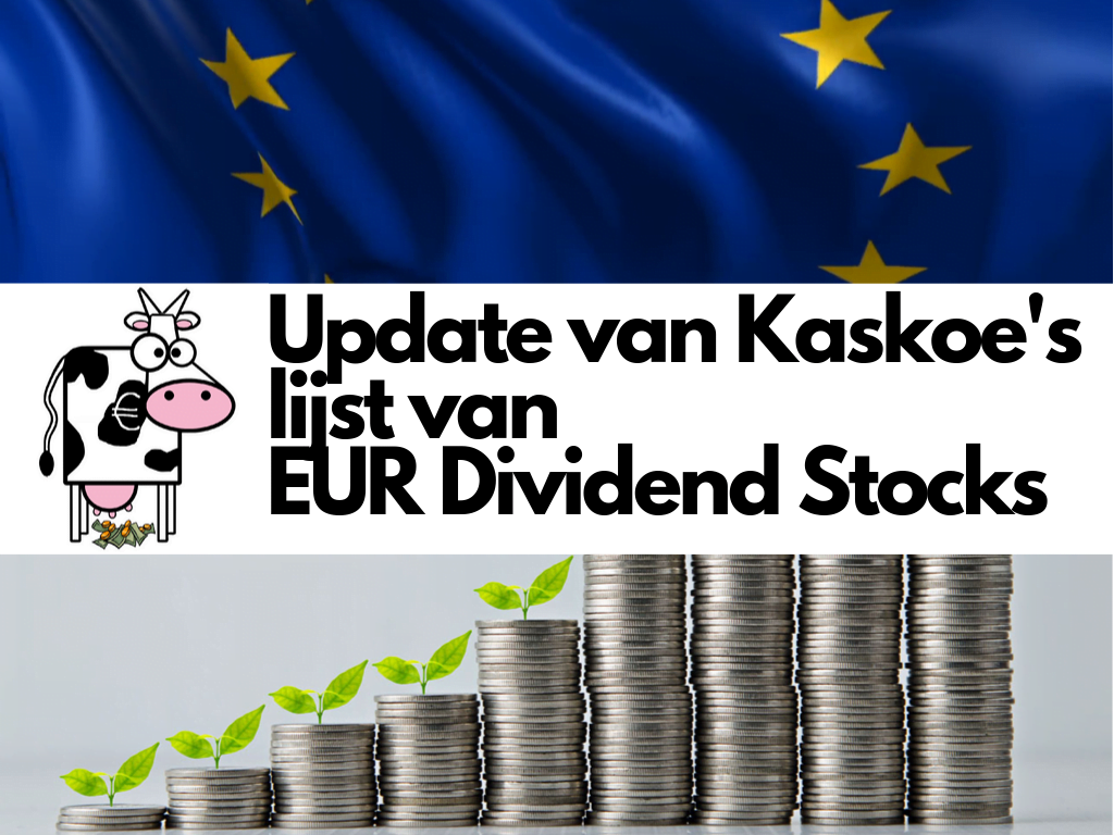 lijst met Europese dividendaandelen