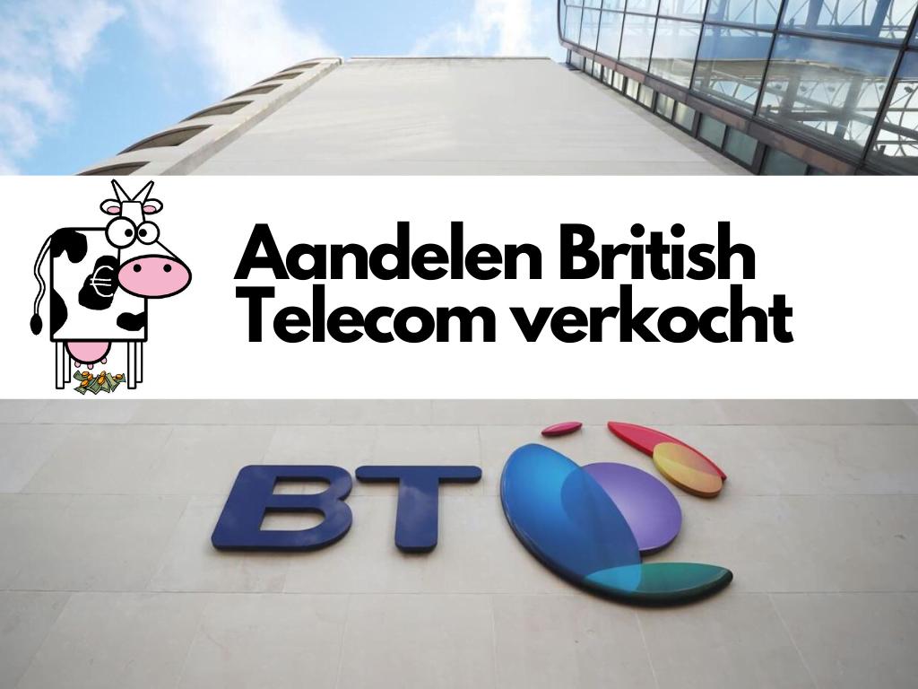 Aandelen British Telecom verkocht