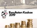 Resultaten van Kaskoe in 2019