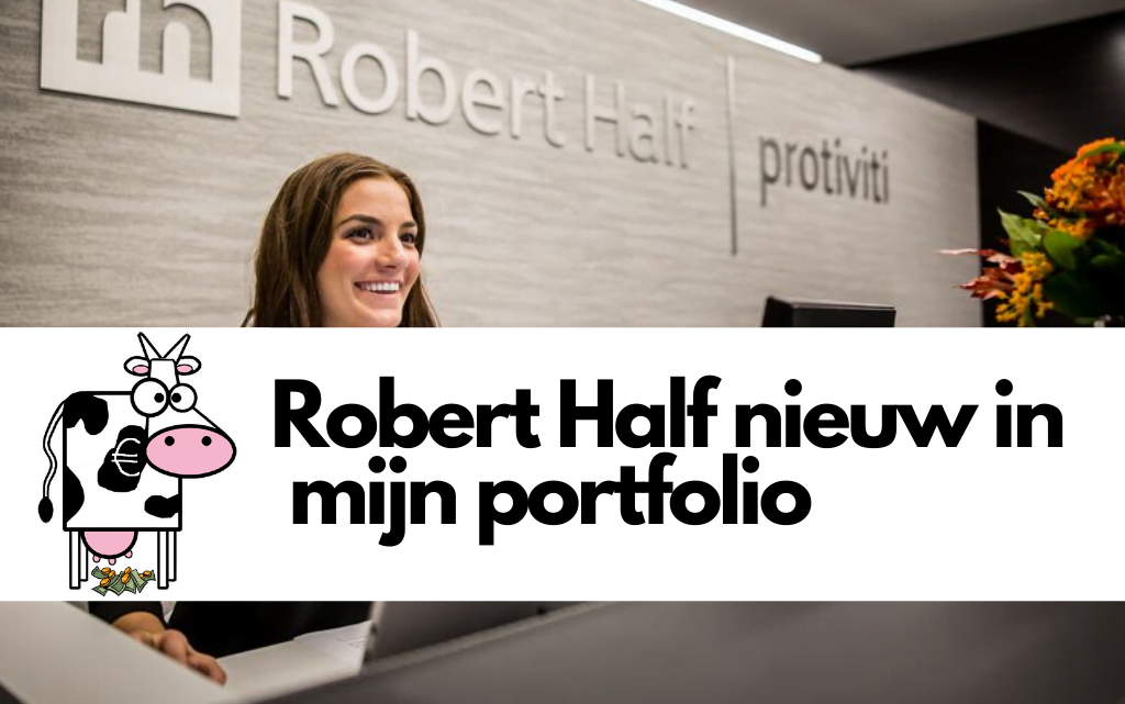 Robert Half toegevoegd aan mijn portfolio