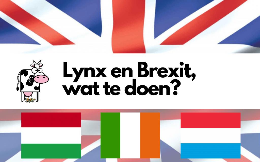 Lynx en Brexit, wat te doen?