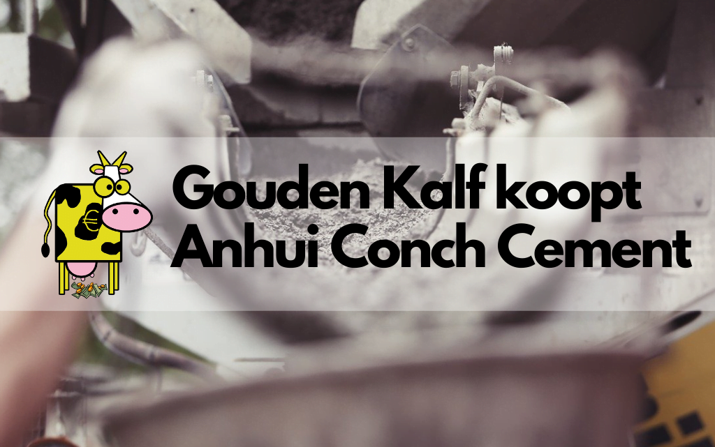 Anhui Conch, Gouden Kalf stapt in Chinees cement